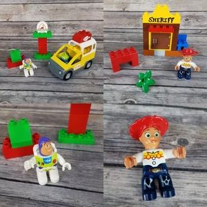 Lego Duplo Pizza Planet Jessie's Toy Story 3 Lot